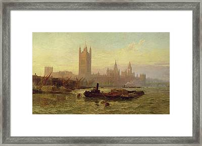 The Palace Of Westminster, 1892  Framed Print by George Vicat Cole