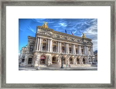 The Palais Garnier Framed Print