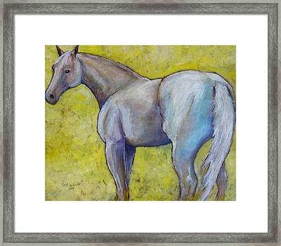 The Pale Horse Framed Print