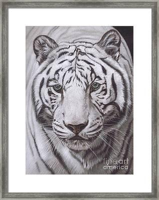 The Pale Hunter Framed Print