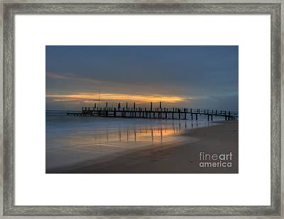 The Pale In Peace Framed Print