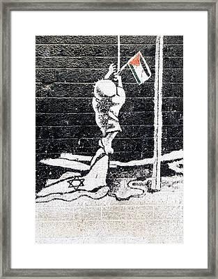 The Palestinian Flag Framed Print