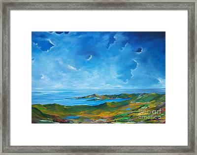The Palette Of Ireland # 2 Framed Print