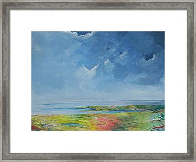 The Palette Of Ireland Framed Print