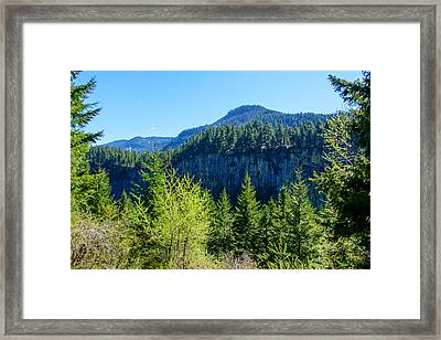 The Palisades Framed Print by Tikvah's Hope