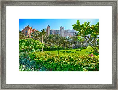 The Palm - Atlantis - Dubai Framed Print by George Paris