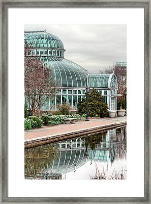 The Palm House Framed Print by JC Findley