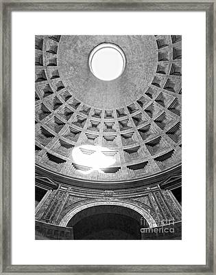 The Pantheon - Rome - Italy Framed Print by Luciano Mortula
