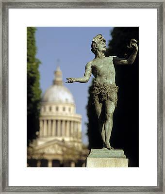 The Pantheon Paris France Framed Print by Panoramic Images
