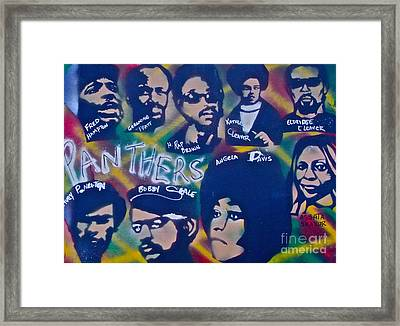 The Panthers Framed Print by Tony B Conscious
