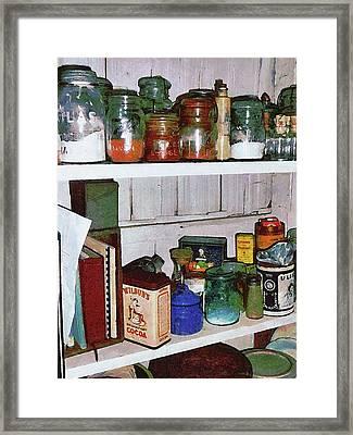 The Pantry Framed Print