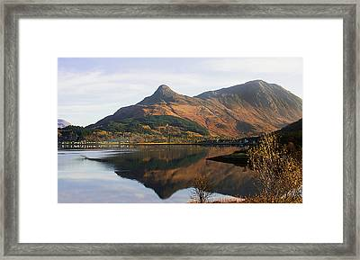 Framed Print featuring the photograph The Pap Of Glencoe by Jacqi Elmslie