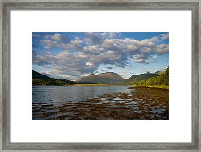 Framed Print featuring the photograph The Pap Of Glencoe by Stephen Taylor
