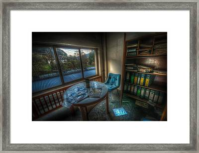 The Paper Office Framed Print