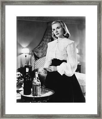 The Paradine Case, Ann Todd, 1947 Framed Print by Everett