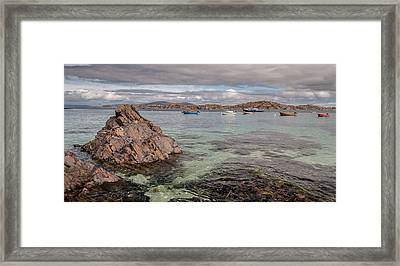 The Paradise Place Framed Print