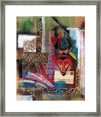 The Paradox Of Independence Framed Print