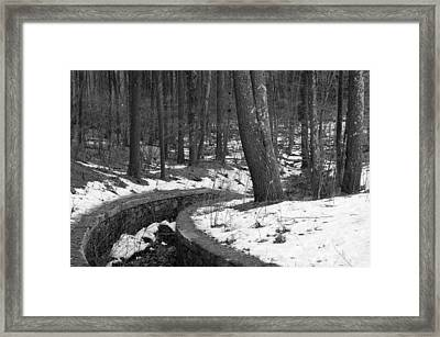 The Parallel Path Framed Print