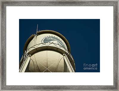 The Paramount Pictures Water Tower Framed Print