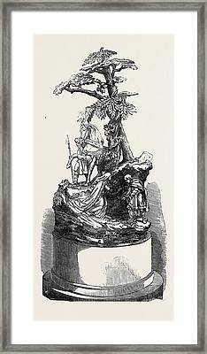 The Paris Universal Exhibition Silver Group Warwick Race Framed Print