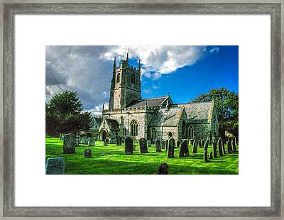 The Parish Church Of St. James Framed Print by Ross Henton