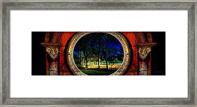The Park Framed Print by Gunter Nezhoda