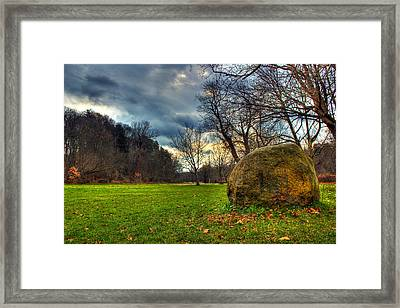 The Park Framed Print by Tim Buisman