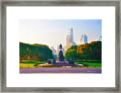 The Parkway Framed Print by Bill Cannon