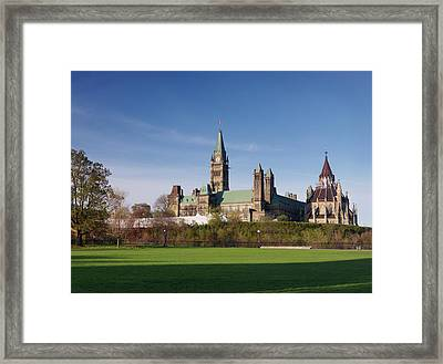 The Parliament Building In Ottawa Framed Print