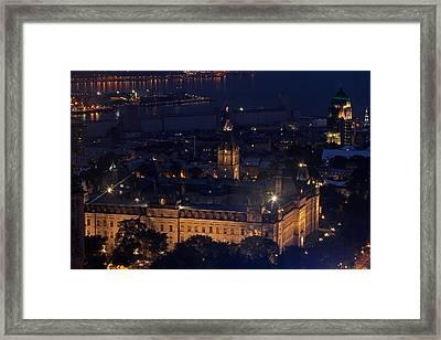 The Parliament Of Quebec Framed Print