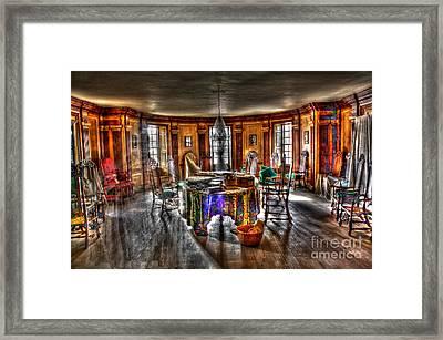 The Parlor Visit Framed Print