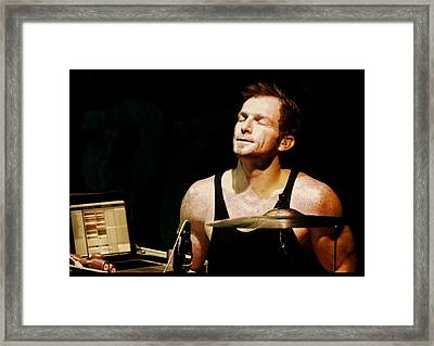 The Parlotones - Neil Pauw Framed Print by Nerisha Ray Singh