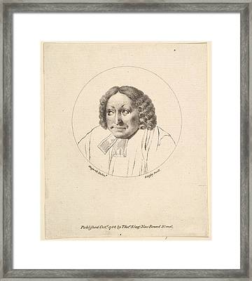 The Parsons Head Framed Print by after William Hogarth