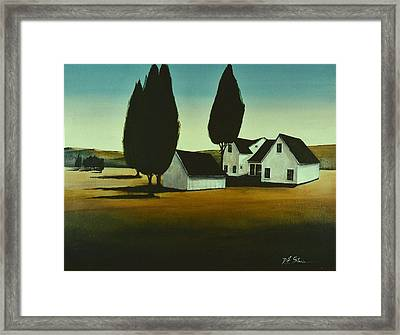The Parson's House Framed Print