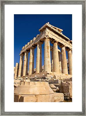 The Parthenon Framed Print by Brian Jannsen
