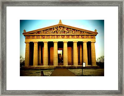 The Parthenon Framed Print by Dan Sproul