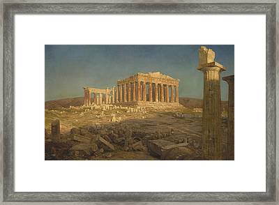 The Parthenon Framed Print by Frederic Edwin Church