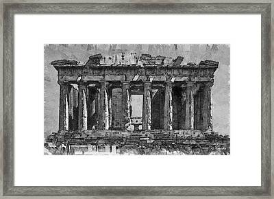 The Parthenon Framed Print