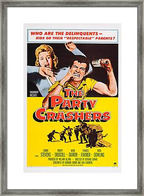 The Party Crashers, Connie Stevens Framed Print by Everett