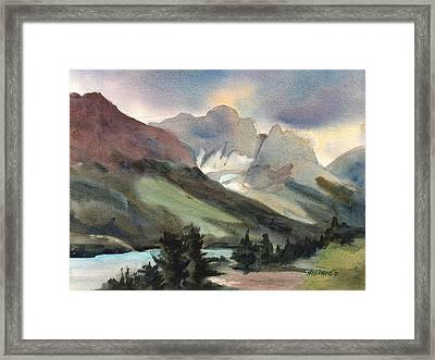 The Pass Framed Print by Kris Parins