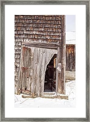 The Passage Of Time Framed Print