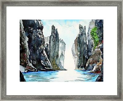 The Passage Framed Print by Tom Riggs