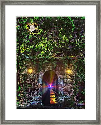 The Passageway  Framed Print