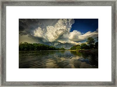 The Passing Storm Framed Print by Everet Regal