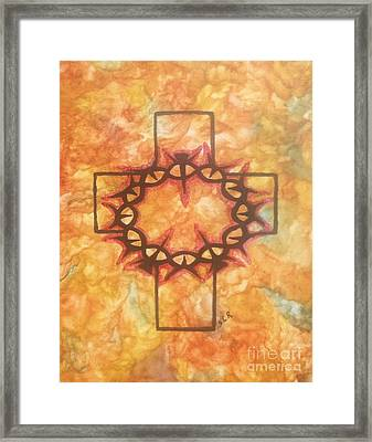 The Passion By Saribelle Rodriguez Framed Print by Saribelle Rodriguez