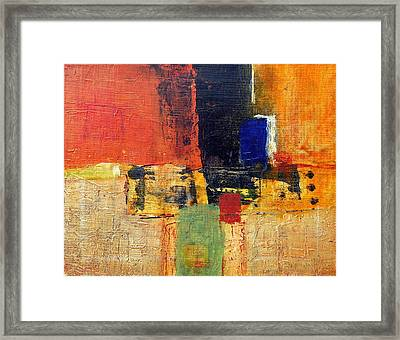 The Passion Framed Print by Jim Whalen