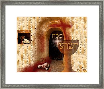 The Passover Framed Print