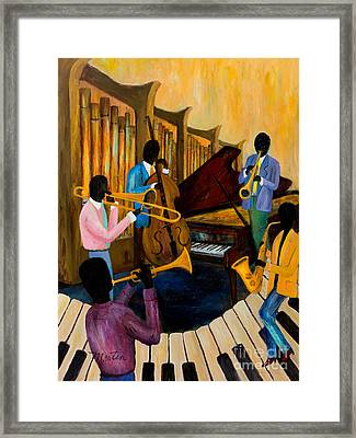 The Pastels Framed Print by Larry Martin