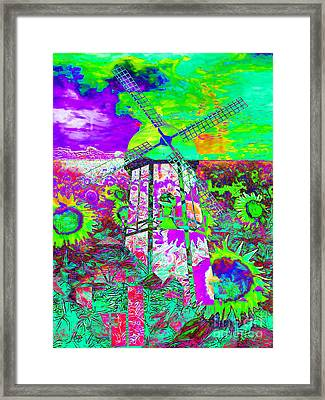 The Pastoral Dreamscape 20130730m135 Framed Print by Wingsdomain Art and Photography