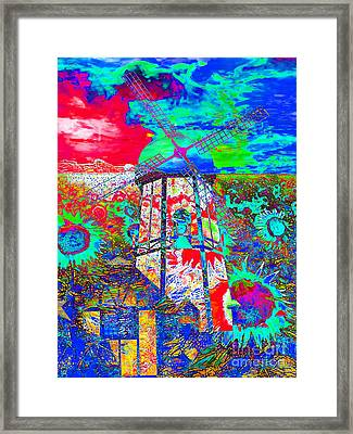 The Pastoral Dreamscape 20130730m68 Framed Print by Wingsdomain Art and Photography